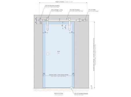 System drzwi przesuwnych MAGTEC